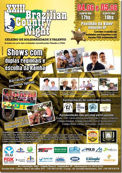 XXIII Brazilian Country Night