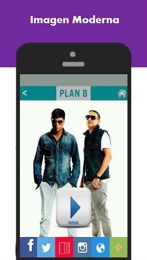 Letras de Plan B App
