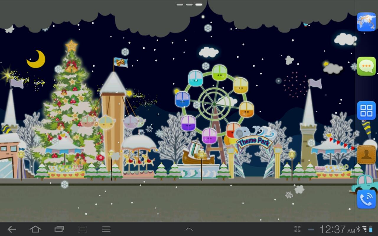 My Christmas Wonderland LWP- screenshot
