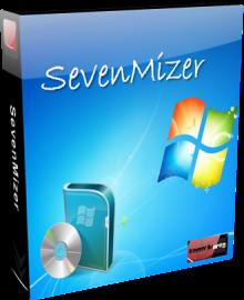 حول نظامك اكس بي الي اجمل ستايل ويندوز 7 مع العملاق SevenMizer 2 1 0 0 رووعه