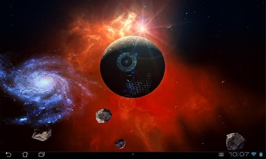Space Symphony 3D Pro LWP Screenshot