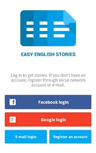 Easy English Stories -Freemium- screenshot thumbnail