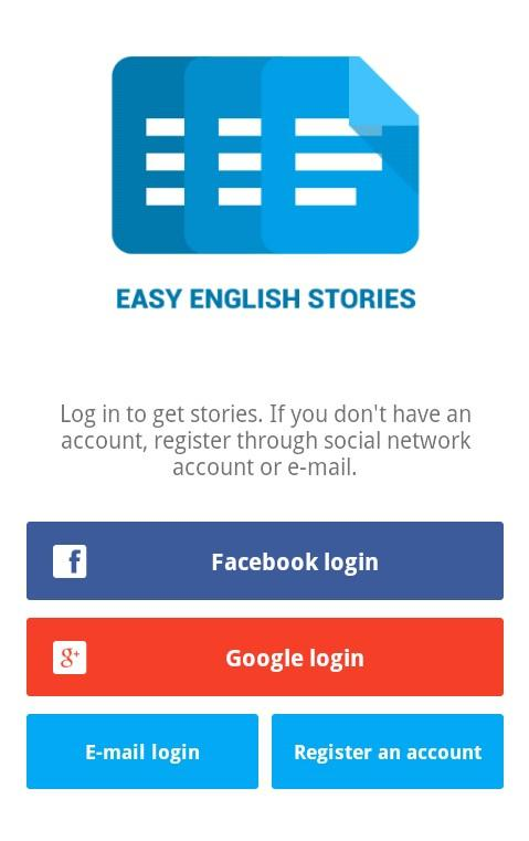 Easy English Stories -Freemium- screenshot