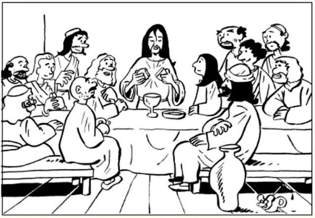 La Semana Santa En Dibujos Para Niños