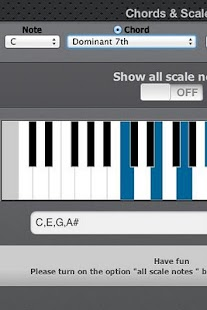 Chords Scales