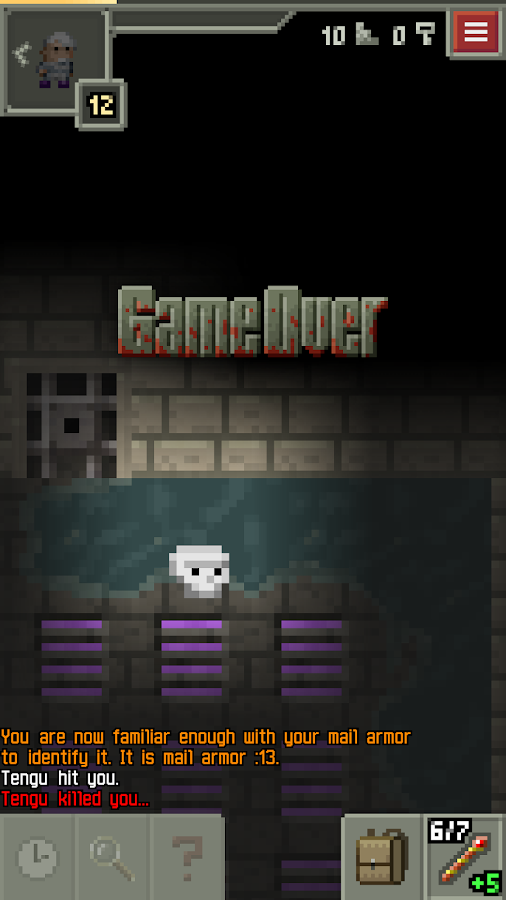 Pixel Dungeon- screenshot
