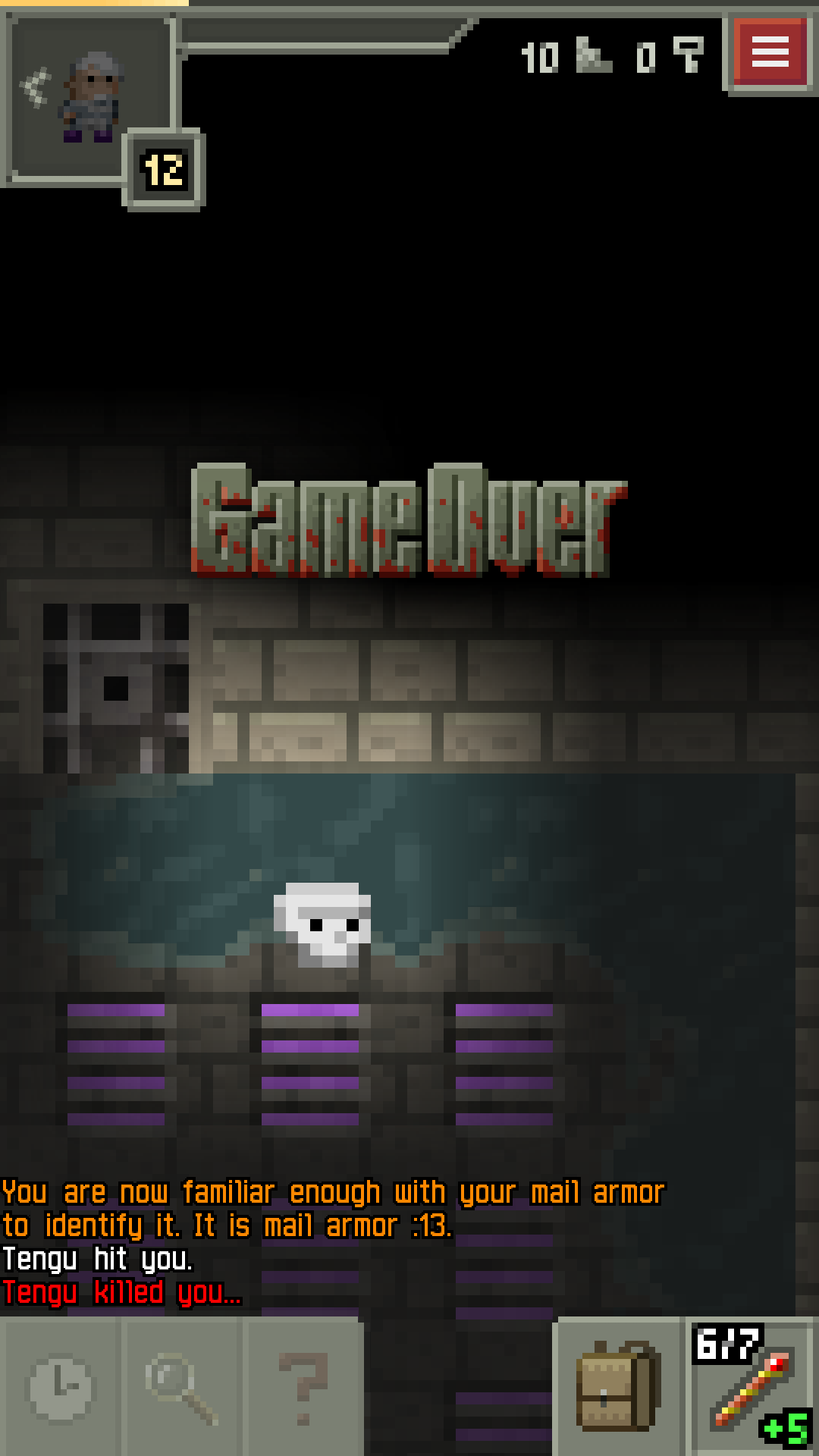 Pixel Dungeon screenshot #7