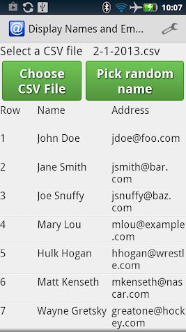 Email Sign Up Screenshot