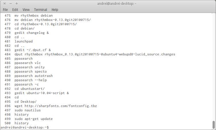 7 Of The Best Ubuntu Terminal (Fixed Width) Fonts ~ Web Upd8: Ubuntu