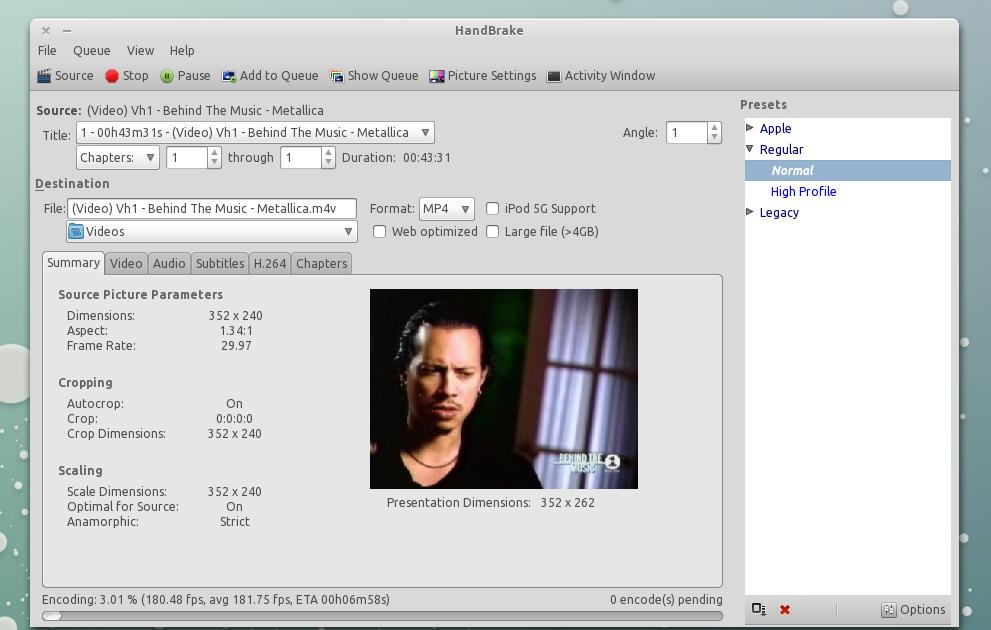 HandBrake 0 9 5 Has Been Released (Ubuntu Installation