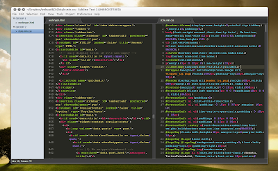 Sublime Text 2 double pane
