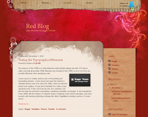 Red Blog