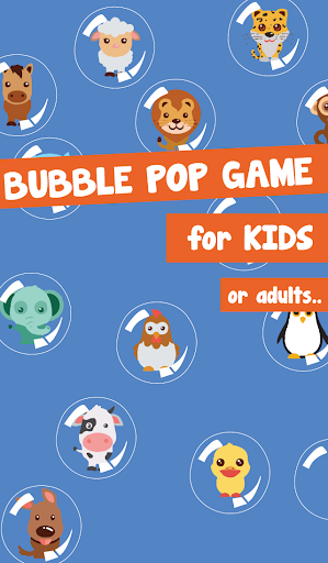 Bubble For Kids: Animal