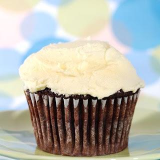 Divvies Chocolate Cupcakes.