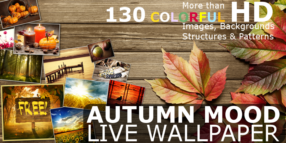 Autumn Mood Live Wallpaper Pro - screenshot