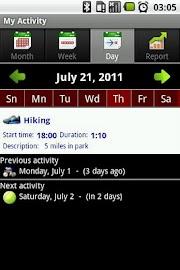 My Activity Screenshot 3