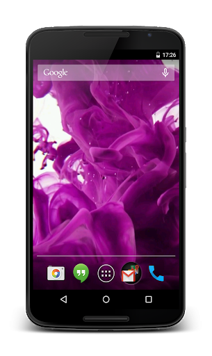 Ink Drops Video Live Wallpaper