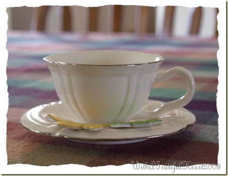 Little White Teacup