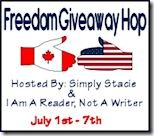 Freedom Giveaway Hop Button