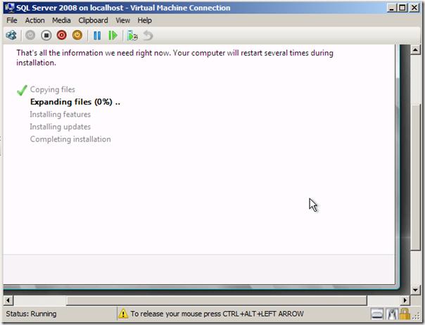BizTalk Virtual Machines with Windows 2008 R2 Hyper V - Steef-Jan