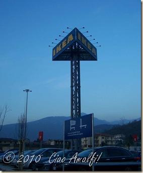 A Road Trip To Ikea Salerno Ciao Amalfi