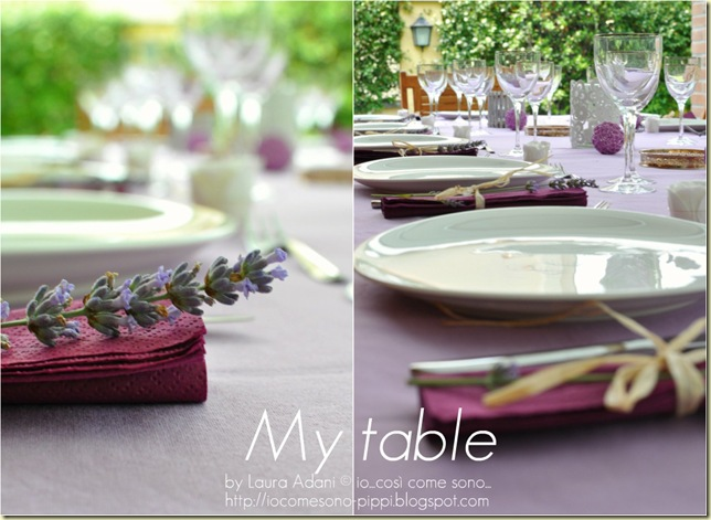 Collage di my table