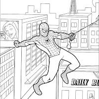 Comics Para Pintar De Spiderman