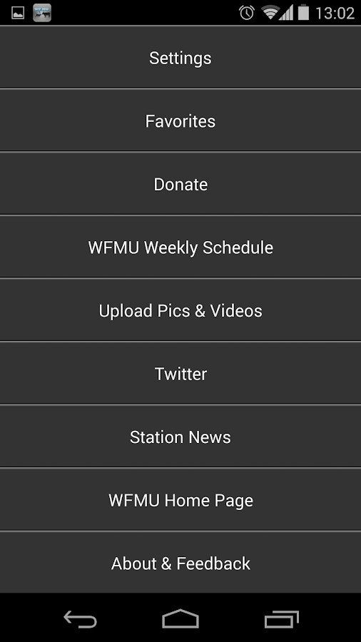 WFMU (Official)- screenshot