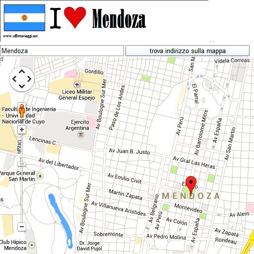 Mendoza maps