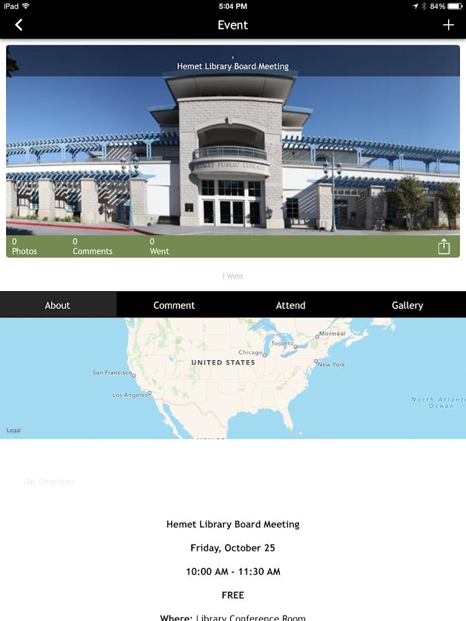 CityByApp® Hemet! - screenshot