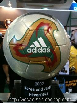 Adidas Fevernova - World cup Korea and Japan 2002