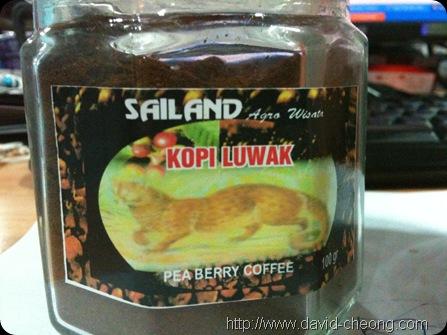 Sailand Kopi Luwak