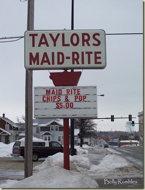 maid rite sign