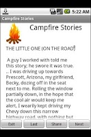 Screenshot of Scary Campfire Stories