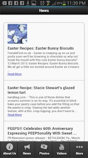 Easter Recipes - screenshot thumbnail