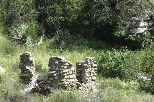 Some ruins along the trail.