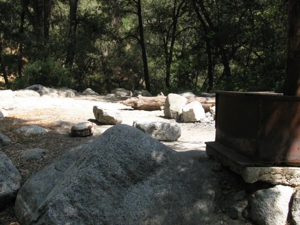stove and canteen and sites