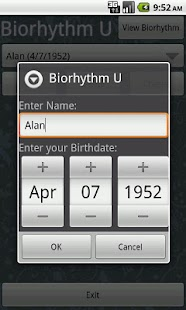 Biorhythm U- screenshot thumbnail
