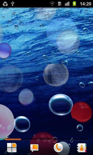 泡沫的動態壁紙