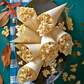 Sugar-and-Spice Caramel Popcorn