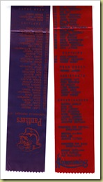 1973 homecoming ribbons