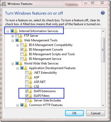 Chau Chee Yang Technical Blog: Configure Windows 7 IIS7 for