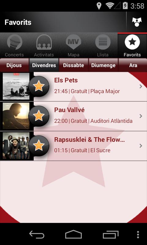 Mercat de Música Viva de Vic- screenshot