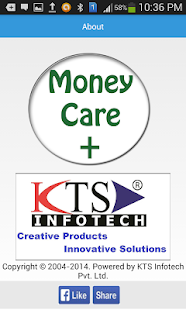 MoneyCare + Lite Edition- screenshot thumbnail