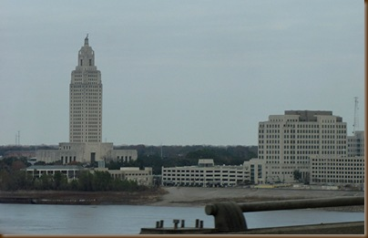 Baton Rouge and the Mississippi