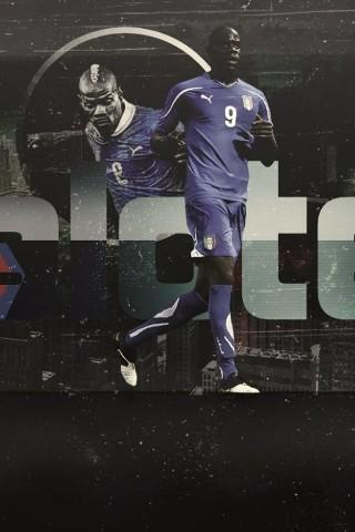 Mario Balotelli HD LWP - screenshot