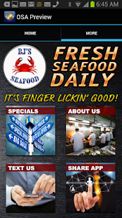 BJs Seafood - screenshot thumbnail