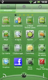 Go Launcher EX Ganja Theme - screenshot thumbnail