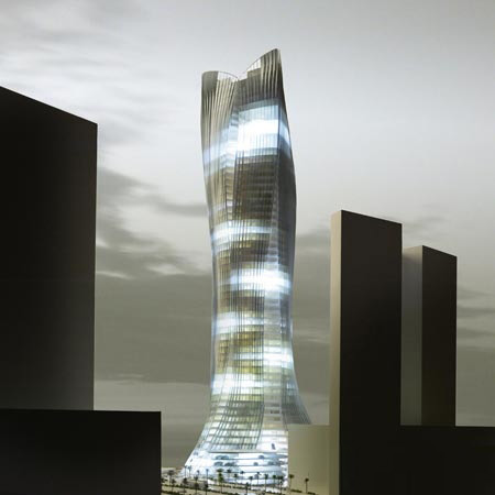 Dubai tower project