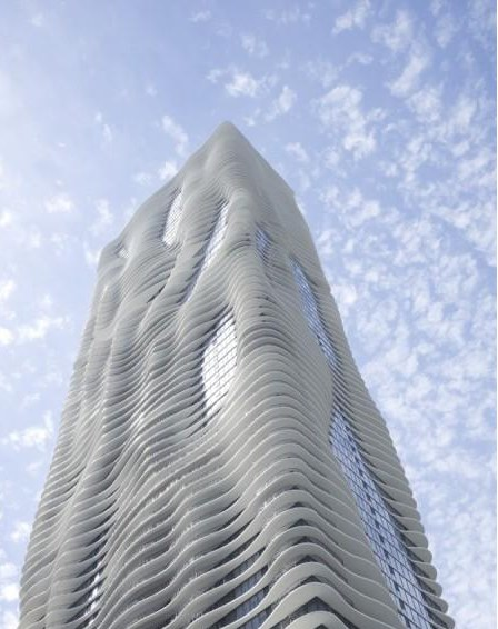 Aqua Tower by Studio Gang